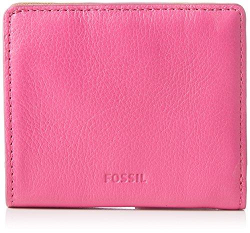 Fossil Damen Emma Geldbörse, Pink (Hot Pink), 1.94 x 8.89 x 10.16 (Hot Geldbörsen)