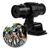 Mini Sport Camera - Action Cam Full HD 1080P Impermeabile Sport DV Fotocamera - Bike Helmet Action Camera - DVR Video Cam Perfetto per Outdoor Bike Helmet Arm Hunting