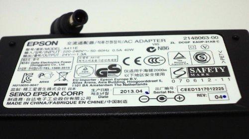 24V Epson V800Scanner Netzteil Adapter inkl. Stromkabel 20-bis 24-pin Netzteil Adapter