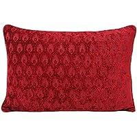 "Riva Paoletti ""Woburn Cushion Covers, Raspberry, 40 x 60 cm"
