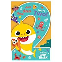 Baby Shark 2nd Birthday Carlendar