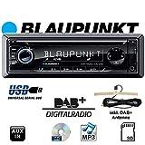 Blaupunkt Dortmund 230DAB Autoradio DAB+ Tuner, Bluetooth®-Freisprecheinrichtung