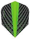Harrows Dart Flights - Supergrip/Quantum/Plexus/Carbon/Retina/Retina-X/Marathon (Quantum - Green, 1 Set (3 Flights))