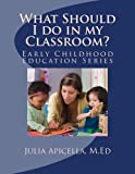 Image de What Should I do in my Classroom? (Early Childhood Education Series) (English Edition)