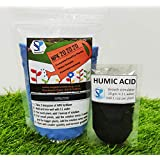 Shiviproducts NPK 20 20 20 Water Soluble Fertilizer for Plants (450 gm) + Organic Humic Acid Fertilizer for Root Growth (10 gm)
