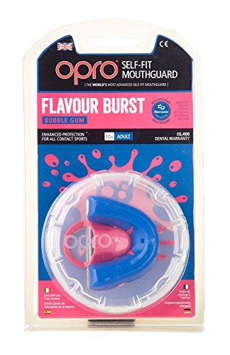 OPRO Zahnschutz Silver Flavoured - Bubble Gum