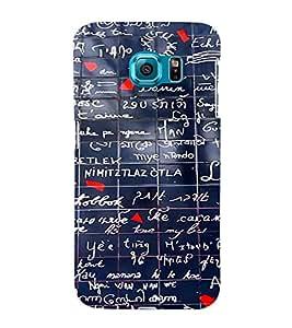 Ebby Printed back cover for Samsung S6 Edge(Premium Designer case)