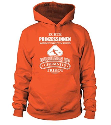 Chemnitzer Fc Fussball Fan Hoodie Shirt Kapuzenpullover Unisex