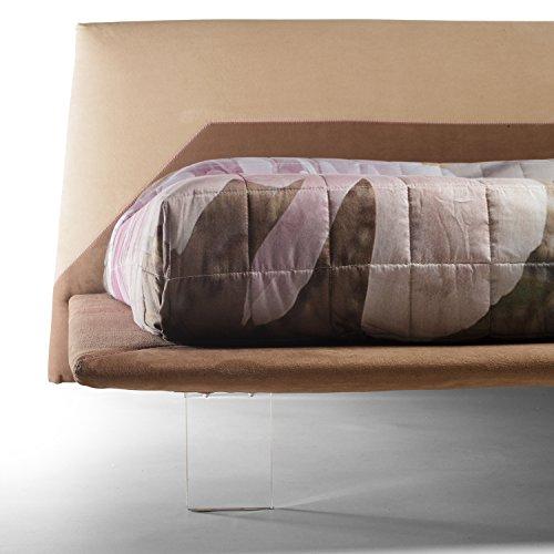Goldflex letto imbottito stile moderno misura for Letto stile moderno