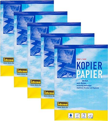Idena Kopierpapier 80 g/m² (DIN A4, 5 Pack (1 Karton))