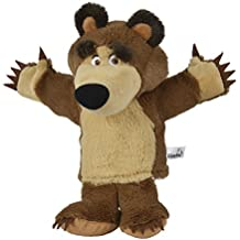 Simba 109308207–mascha y el oso oso de peluche marioneta de mano 28cm