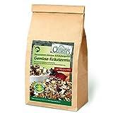 Original-Leckerlies: Gemüse-Kräutermix, 5 kg getreidefreie Gemüseflocken, Hundeflocken, Hundefutter, Naturprodukt für Hunde, barfen