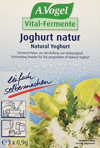 Vogel Fermenti per Yogurt Nature - Confezione da 3 x 0.7 gr