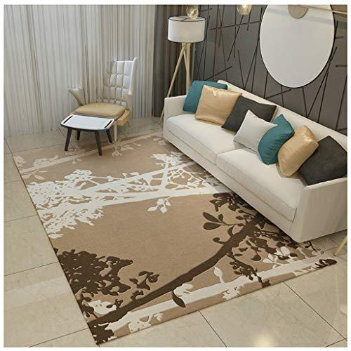 XiuXiu Modernes Gartenhaus Teppich Couchtisch Kissen Schlafzimmer Wohnzimmer Studie Eingang Teppich...
