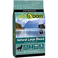 WILDBORN NATURAL LARGE BREED 15 kg Hundefutter getreidefrei für erwachsene Hunde großer Rassen über 20kg mit frischem Geflügelfleisch | Hund Hundefutter getreidefrei | Hundefutter Trockenfutter|Mit Hunde Hundefutter getreidefrei Ihren Hund richtig gesund ernähren | Premium Futter Hund | getreidefreies Hundefutter | Hunde Trockenfutter für alle Hunderassen ab 6 Monate | Hundefutter getreidefrei Trockenfutter | Hundefutter hochwertig und gesund