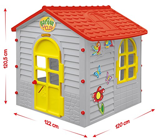 Garden Playhouse - Indoor/outdoor Toy cottage - Wendy House; size 120x122x120.5 cm