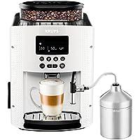 Krups EA8161 - Cafetera automática, 1450 W, 1,8 l, color blanco