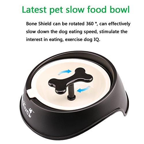 wangstar-Pet-Dog-Slow-Feeder-Bowl-with-Bone-Shape-Rotating-HinderInteractive-Feed-BowlEating-Sport-Dog-Bowl-L-Black