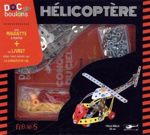 Hlicoptre (Livret + maquette en mtal de 86 pices - systme Mecanno)