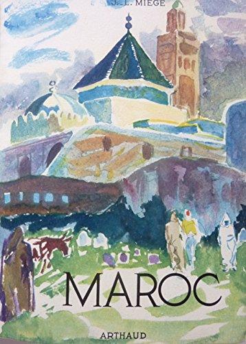 Le Maroc. Couverture de Bertholom Saint-Andr. Ouvrage orn de 170 hliogravures. Exemplaire reli. Trs belle reliure. Edition bibliophilique