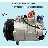 GOWE AC Compresor para coche 7seu17 C AC Compresor para coche Benz CL203 S203 A209 W211