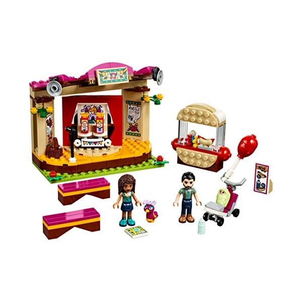 LEGO- Friends La Performance al Parco di Andrea, Multicolore, 41334 3 spesavip