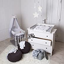 Cambiador para bebé superior para cómoda Hemnes de IKEA