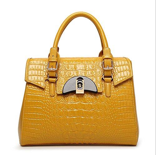 GBT Die neue Art- und Weisedame-Handtasche Yellow