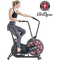 Preisvergleich für Schwinn Unisex– Erwachsene Airdyne AD2 Fitnessbike, Indoor Cycle, Ganzkörper-Cardio-Workout, stufenloser Widerstand, leistungsstarker Antriebsriemen, BioDyne Performance, LCD Monitor, Max. Benutzer 136 kg, schwarz, 1