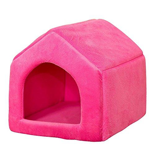 Pet Supplies Amovible Dog Kennel Cat Nest House Sacs De Couchage, Cinq Couleurs En Option ( Couleur : D , taille : M )
