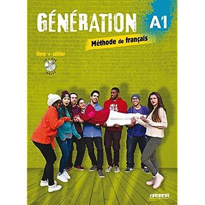 Génération 1 niv.A1 - Livre + Cahier + CD mp3 + DVD