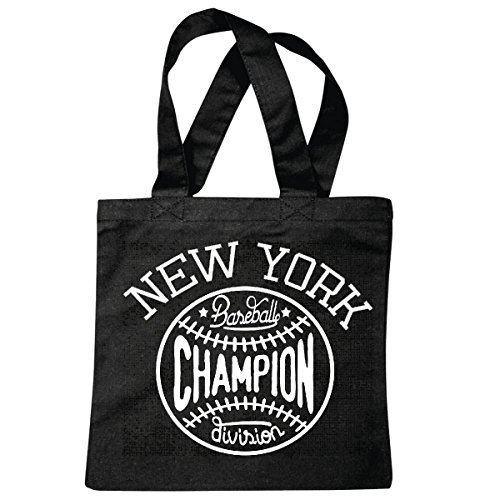 sac à bandoulière NEW YORK BASEBALL CHAMPION DIVISION DE BASEBALL BAT BASEBALL PLAYER BASEBALL SHIRT BASEBALL ÉQUIPE Sac école Turnbeutel en noir