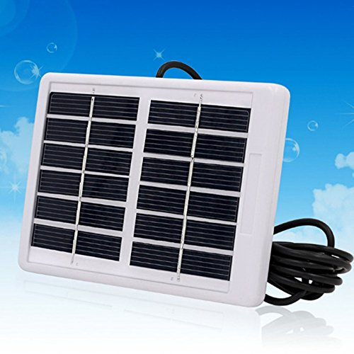 * SODIAL es una marca registrada. Solo el vendedor autorizado de SODIAL puede vender los productos de SODIAL. Nuestros productos va a mejorar su experiencia de la inspiracion sin igual. SODIAL(R) 6V 1.2W Panel solar policristalino Modulo de celda sol...