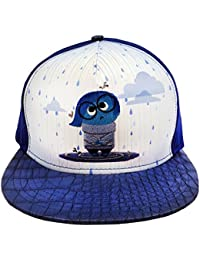 Disney Inside Out Rainy Day Sadness Adjustable Baseball Hat