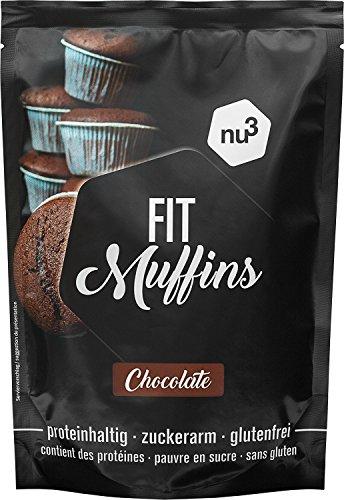 nu3 Fit Pancake – 240g Glutenfreie Backmischung für Pancakes & Pfannkuchen – 28,3g Protein pro 100g – nur 7,3% Fett…