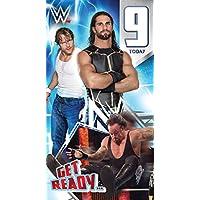 WWE Wrestling Age 9 Birthday Card