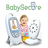 GHB Babyphone Digital Audio Video Baby Monitor Camera Baby phone Wireless Realtime Digital LCD Display Babyviewer 2.4 GHz by gohappybuy
