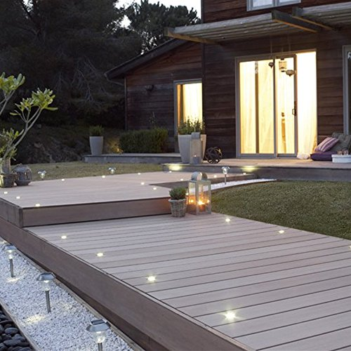 terrassenbeleuchtung einbaustrahler 12er set led bod. Black Bedroom Furniture Sets. Home Design Ideas