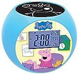 Best Peppa Pig Relojes para niños - Peppa Pig Reloj despertador con proyector (Lexibook RL975PP) Review
