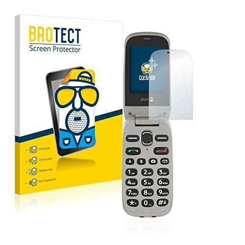BROTECT Schutzfolie Matt kompatibel mit Doro PhoneEasy 632 [2er Pack] - Anti-Reflex, Anti-Fingerprint, Anti-Kratzer
