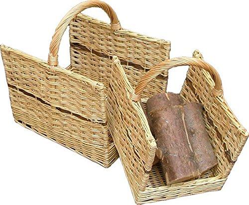 Set mit 2 Open End Log Baskets