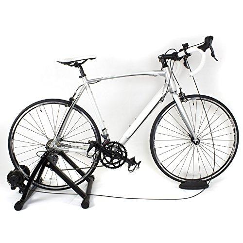 DTX Fitness Entraineur Turbo Reglable pour Velo - Noir - Utilisez Votre Velo Comme Velo d'Appartement