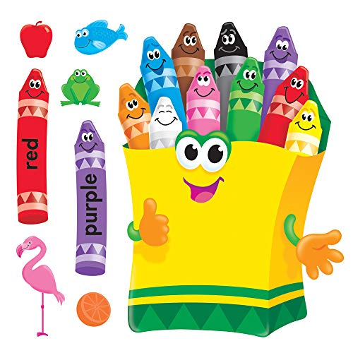 Trend Enterprises Colorful Kreiden Bulletin Board Set (t-8076) (Bulletin Kreide Board Board Und)