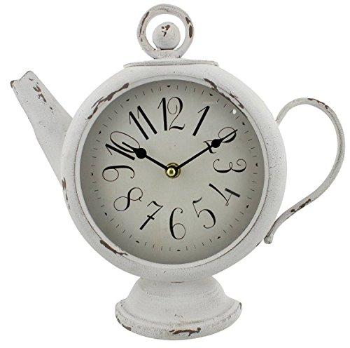 Hometime - Reloj de Pared, Cristal, MDF, plástico, Talla única