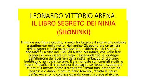 Il libro segreto dei ninja (Shoninki) (Italian Edition ...