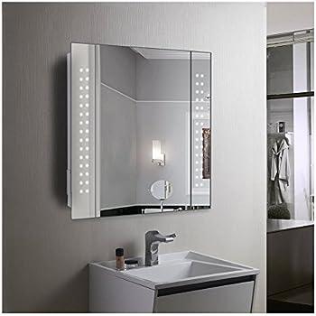 60 led light bathroom mirror cabinet shaver socket demister sensor 60 led light bathroom mirror cabinet shaver socket demister sensor galactic mozeypictures Choice Image