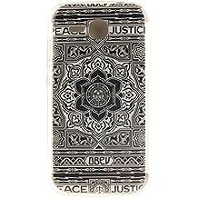 "Voguecase® Para Huawei Ascend Y600(5""),TPU Funda de Silicona de Gel Carcasa Tapa Case Cover (Alfombra D) + Gratis aguja de la pantalla stylus universales"