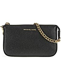 MICHAEL by Michael Kors Jet Set Borsa Carta in Pelle Nero Medium Donna 1573813829e