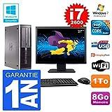 HP PC 6200 SFF Display 68,6 cm (27 Zoll) Intel i7-2600 RAM 8 GB Festplatte 1 TB DVD-Brenner WiFi W7