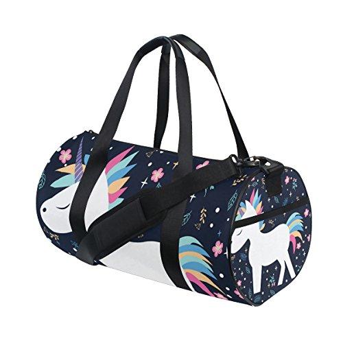 Fitness-Tasche für Damen und Herren von JSTEL - Dufflebag, Reisetasche L Multi 01